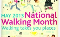 Walks And Walking - National Walking Month May 2013 Logo