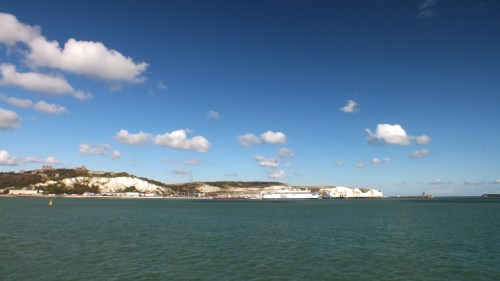 The White Cliffs – From Deal to Dover Coastal Walk - White Cliffs from the Harbour