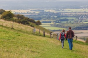 Walks And Walking - Autumn Walks In The South Downs National Park - Fulking on the South Downs Way