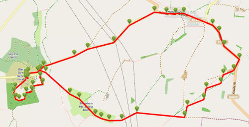 Walks And Walking – Dorset Walks Dorchester Hardys Monument Walking Route Map