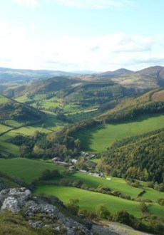 Walks And Walking - Winter Walks Across The Clwydian Range
