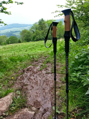 Walks And Walking - Hay Bluff Walking Route - Craghoppers Walking Poles