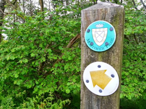 Walks And Walking - Newburn Farm Kington Walking Route - Mortimer Trail