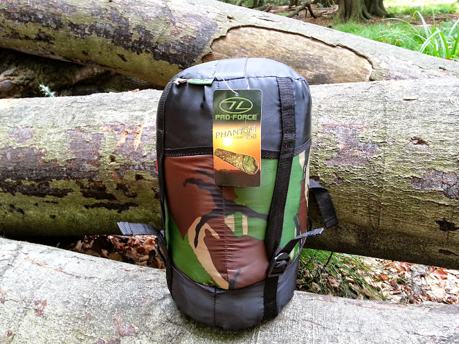 Walks And Walking - Pro Force Phantom Camo 250 Sleeping Bag