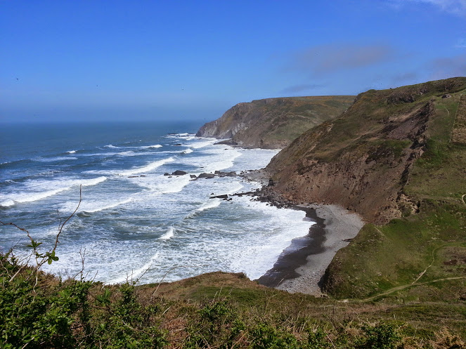 Walks And Walking - Morwenstow Walk In Cornwall - Marsland Cliff