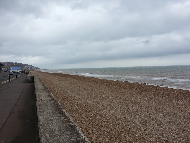 Walks And Walking - Sandgate Circular Walk in Kent - Sandgate Esplanade