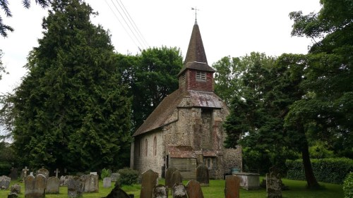 Walks And Walking - Elham Walk in Canterbury Kent - Acrise Church