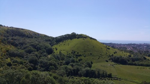 Walks And Walking - Folkestone 3 Peaks Challenge - Sugar Loaf Hill