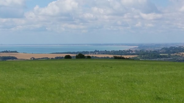 Walks And Walking - Paddlesworth Walk In Kent - Views Out To Hythe