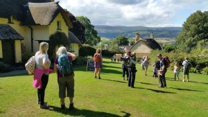 A Week At Holnicote House With HF Holidays - Walk One - 4 Mile Family Circular Walk From Holnicote House