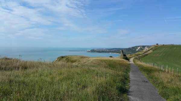 Walks And Walking - Dover Priory To Folkestone West Walk In Kent - Folkestone