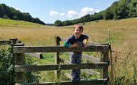 Walks And Walking - Lyminge Forest Walk In Kent - Clavertye Wood