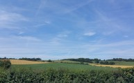 Walks And Walking - Lyminge Walk In Kent - Elham Valley Way Views