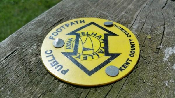 Walks And Walking - Lyminge Walk In Kent - Elham Valley Way