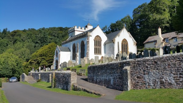 HF Holidays 7 Mile Linear Easy Walk to Dunster - The White Church