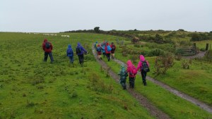 HF Holidays 8 Mile Linear Hard Walk to Lynmouth - From the A39 To The South West Coast Path
