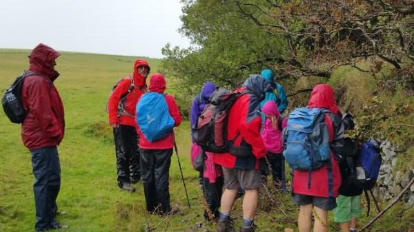 HF Holidays 8 Mile Linear Hard Walk to Lynmouth - Walk Leader Mervyn