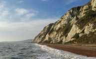 Walks And Walking - Samphire Hoe Walk In Kent - White Cliffs Of Dover