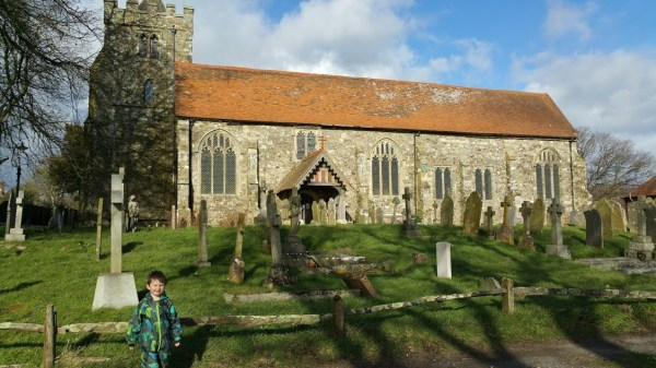 Walks And Walking - Brede Walk in East Sussex - Brede Church