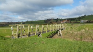 Walks And Walking - Winchelsea Walk in East Sussex - Crossing Over River Brede