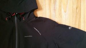 Craghoppers Ladies Olivia Pro Series Shell Waterproof Jacket - Hood And Shoulder Detail