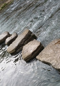 Darwin Forest Country Park Walks - Dove Dale - The Stepping Stones