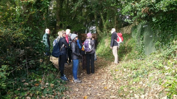 HF Holidays Guided Walk - The Needles Circular Walking Route - Tennyson's Bridge Farringford