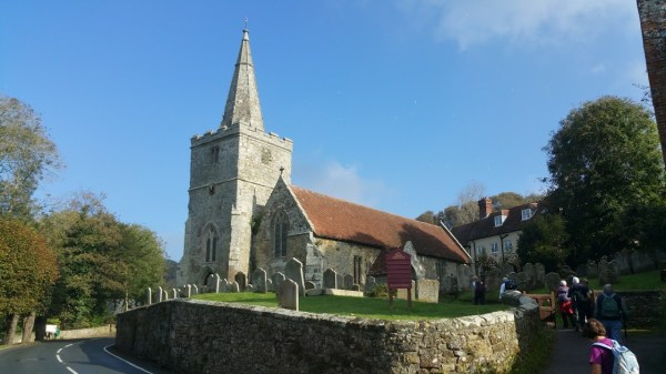 HF Holidays Guided Walk – Carisbrooke Castle Walking Route - Shorwell Church