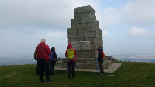 HF Holidays Guided Walk – Godshill Circular Walking Route - Obelisk