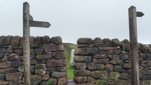 Walks And Walking - The Loaches Walk In The Peak District - brick stile