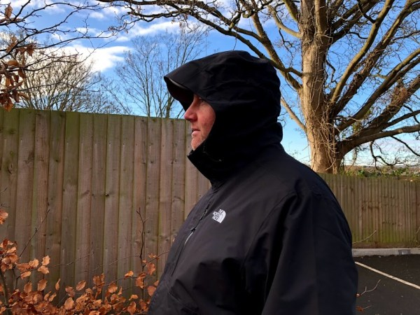 The North Face Dryzzle Jacket - side