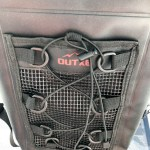 OUTXE TPU Dry Bag Backpack 10L - Front Mesh Pocket