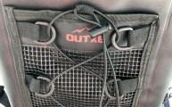 OUTXE TPU Dry Bag Backpack 10L - Front Mesh Pocket