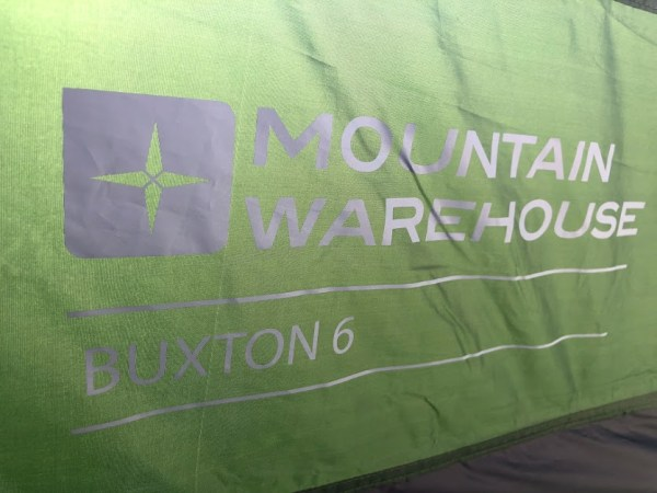 Mountain Warehouse Buxton 6 Man Tent