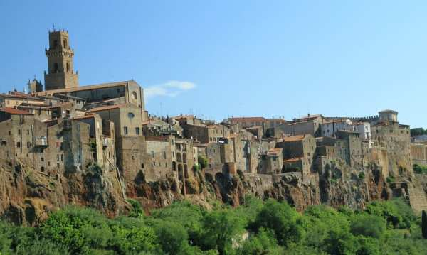 Pitigliano, one of the top ten Tuscan towns outside Florence