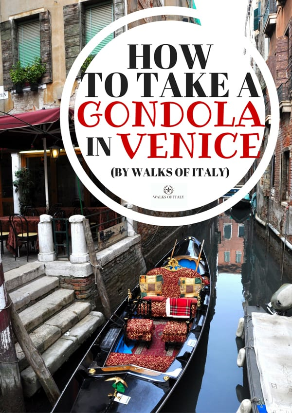 Taking a gondola in Venice is one of the best things you can do in La Serenissima...if you know how to do it. Find out the secrets on the Walks of Italy blog.