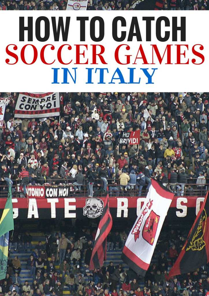AC MIlan supporters are some of the most passionate in Italy. Find out how to catch a soccer game in Italy when you are there on your next visit!