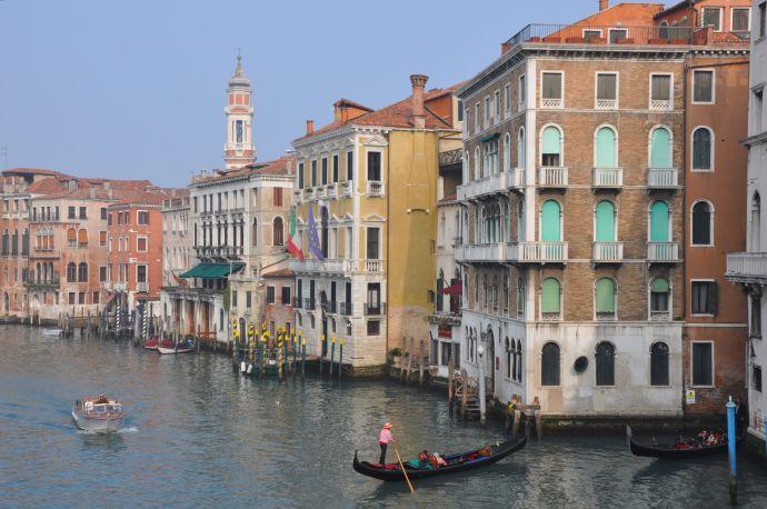 Where the international Venetian Biennale takes place