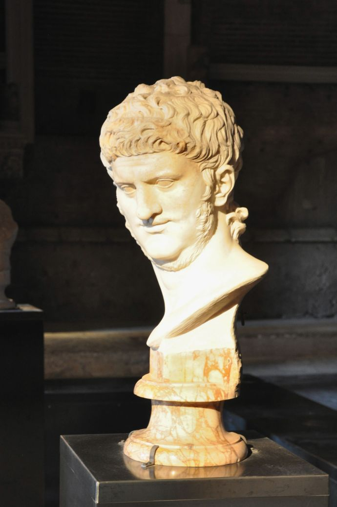 One wacky ancient Roman ruler was Nero, whose exhibit NERONE is in Rome