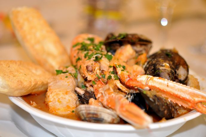 Famous Venetian seafood, a culinary specialty
