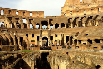 The Colosseum's underground has been reopened