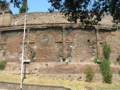 Structure by Elagabalus, one of the worst Roman empire rulers