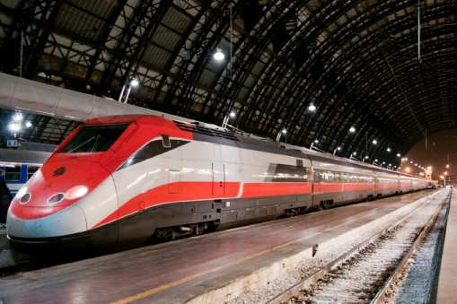 High-speed Italian train