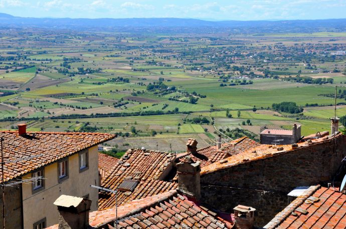 The Tuscan town that's at the center of Sarah Marder's documentary