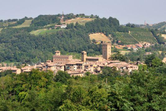 Castell'Arquato, italy