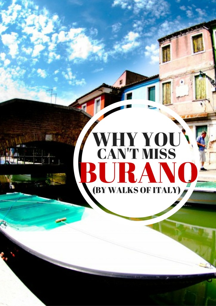The canals of Burano are some of the prettiest in the Venetian Lagoon. Find out why you should take a day trip to Burano on the Walks of Italy blog.