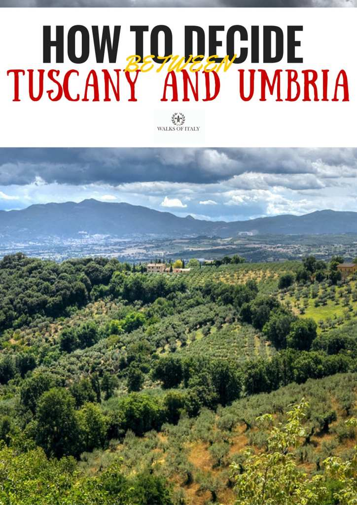 Choosing between Tuscany and Umbria is not easy. We'll break it down for you on the Walks of Italy blog.