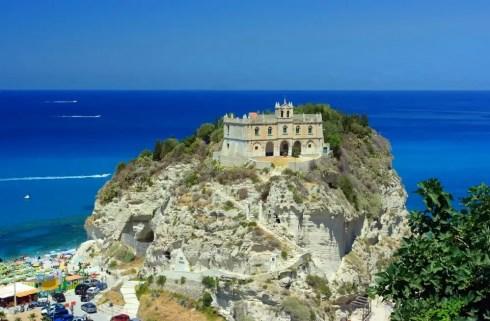 Beautiful Tropea in Calabria, Italy
