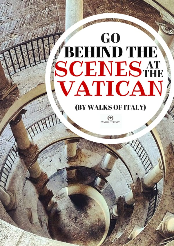 Bramante's staircase is just one of the many wonders you will see if you be behind the scenes at the Vatican. Find the others on the blog at Walks of Italy.