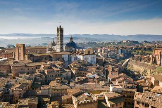 Siena, Tuscany is one of the best day trips from Florence, Italy.